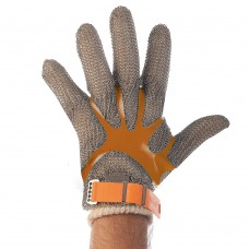 mrežasta rokavica iz nerjavečega jekla