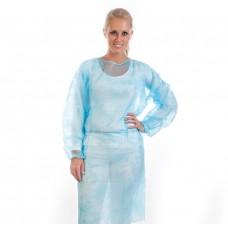 Zaščitna halja za enkratno uporabo PP, 10 kosov   NA ZALOGI