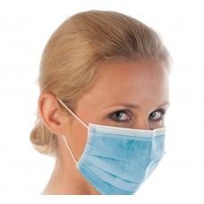 Zaščitna maska 3 slojna, PP, 50 kosov - na zalogi