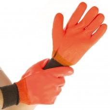 Bombažne zaščitne rokavice pred mrazom COOL NEON