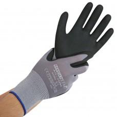 Najlonske delovne rokavice  z nepremočljivo plastjo ERGO FLEX