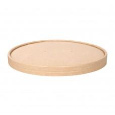 Pokrovček za posodo za solato iz kraft papirja 15cm