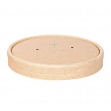 Pokrovček za lonček za juho iz kraft papirja 9,7cm