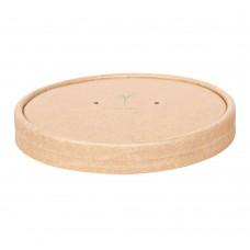 Pokrovček za lonček za juho iz kraft papirja 11,6cm