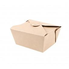 Škatla za hrano iz kraft papirja MENU