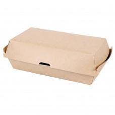 Škatla za sendvič iz kraft papirja CLUB