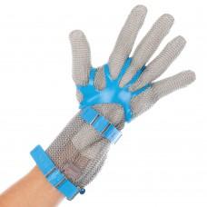 mrežasta rokavica iz nerjavečega jekla z manšeto 8 cm