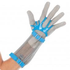 mrežasta rokavica iz nerjavečega jekla z manšeto 15 cm