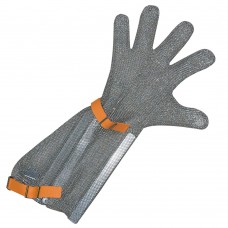 mrežasta rokavica iz nerjavečega jekla z manšeto 20 cm