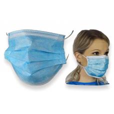 Zaščitna maska 3 slojna 50 kosov - na zalogi
