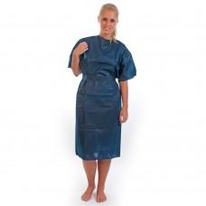 Zaščitna halja za enkratno uporabo kratek rokav, 50 kosov - DOBAVLJIVO V KRATKEM