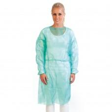 Zaščitna halja za enkratno uporabo LIGHT 115cm, 100 kosov
